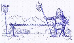 Dessin de Harald Drös