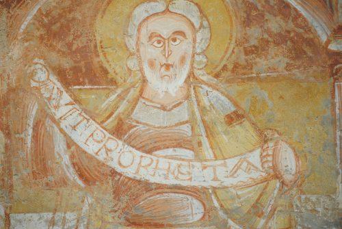 Le roi David en prophète dans les peintures de Saint-Martin de Vic