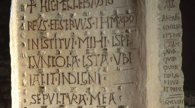 Morgane Uberti et l'inventaire des inscriptions de la Gaule chrétienne (Antiquité tardive – haut Moyen Âge)
